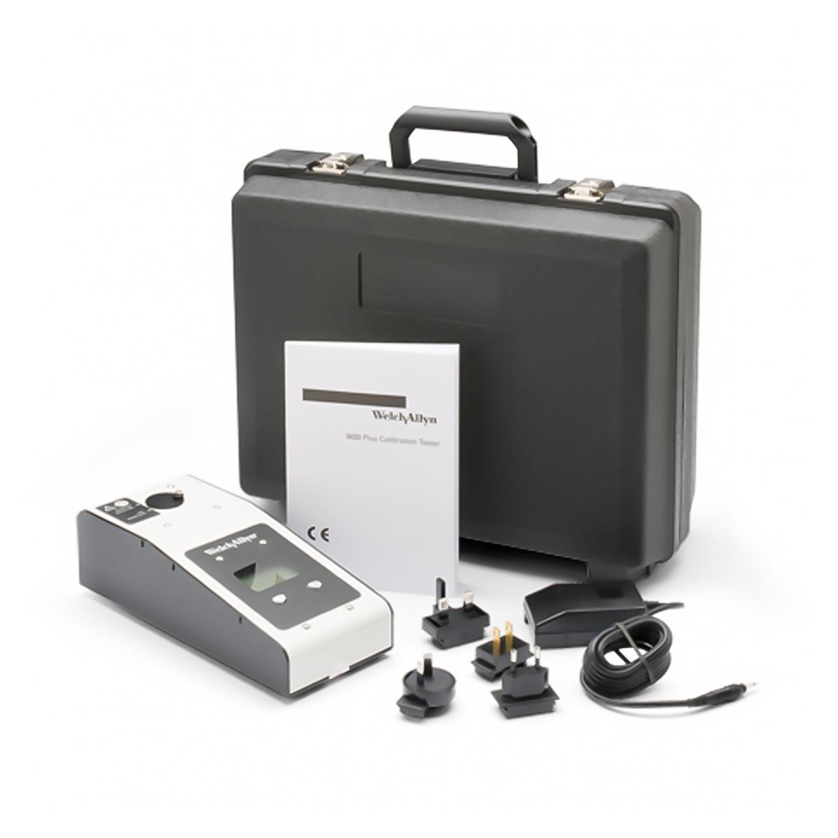 9600 Plus Calibration Tester, carrying case and accessories