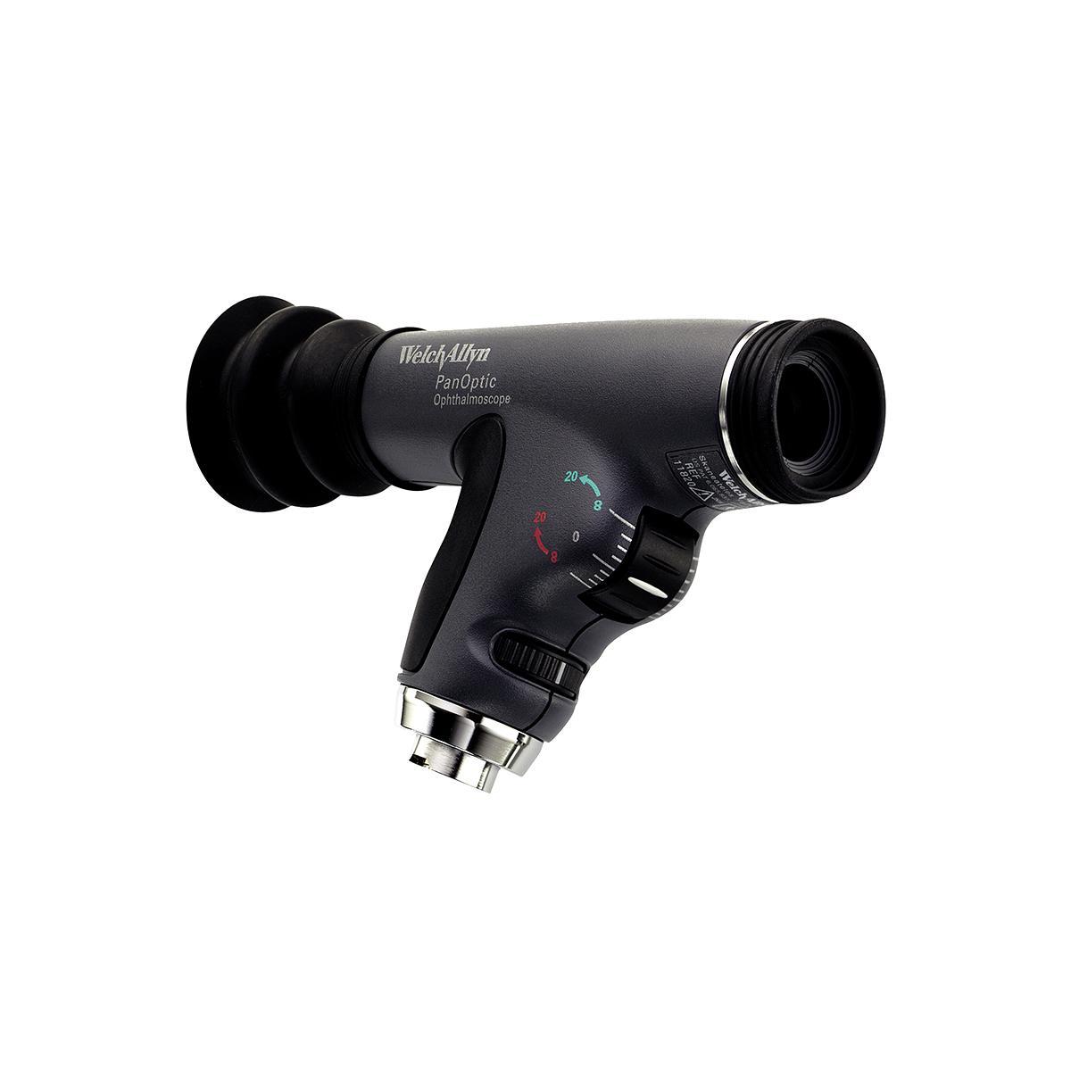 PanOptic 検眼鏡ヘッド、側面