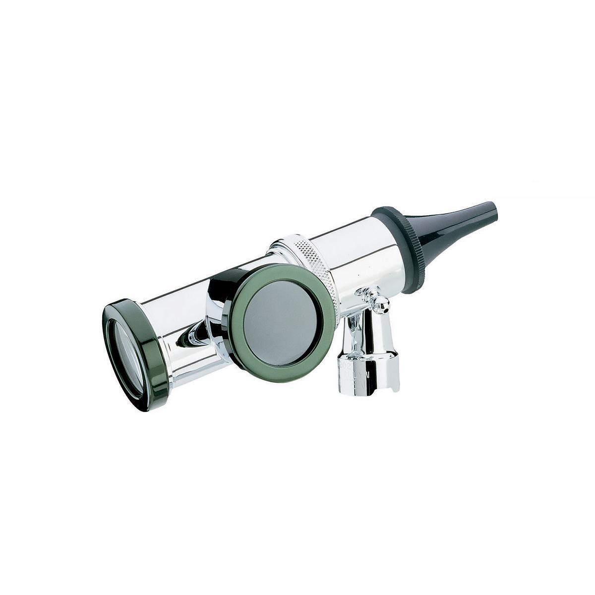 Otoscope pneumatique de consultation de 3,5V, vue de trois quarts