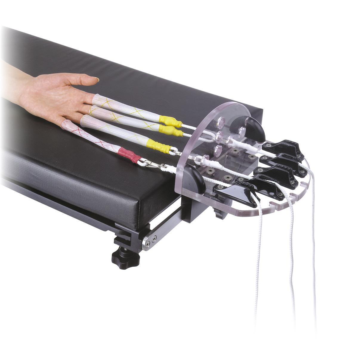 Schlein Hand Positioner with patient hand