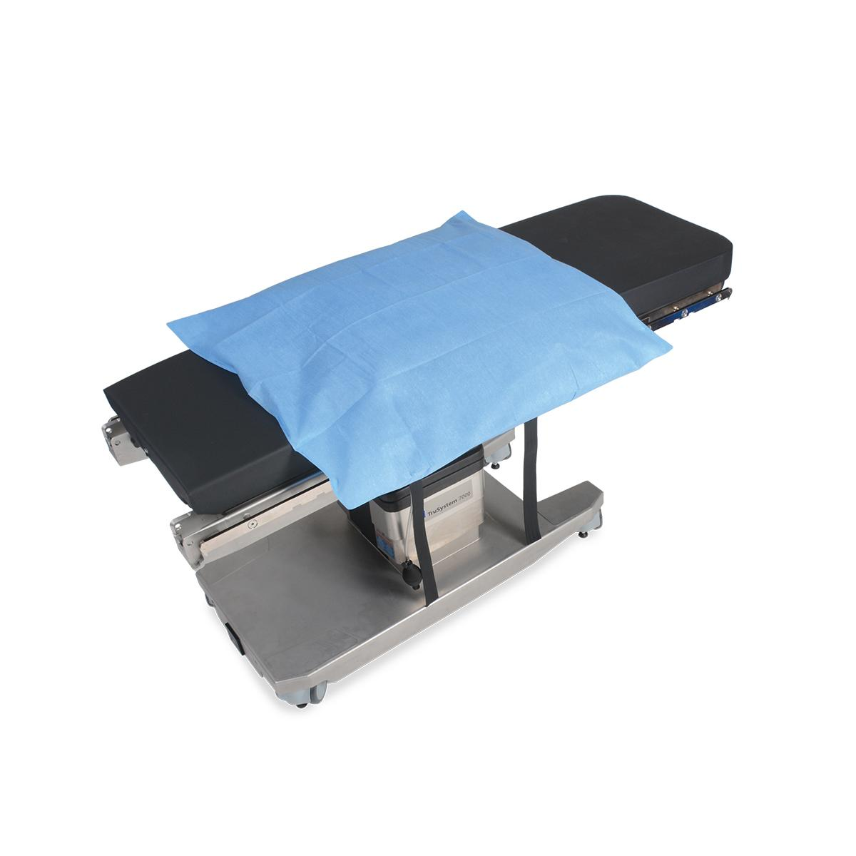 Allen® Hug-U-Vac® Lateral Positioner diagonal view with disposable cover