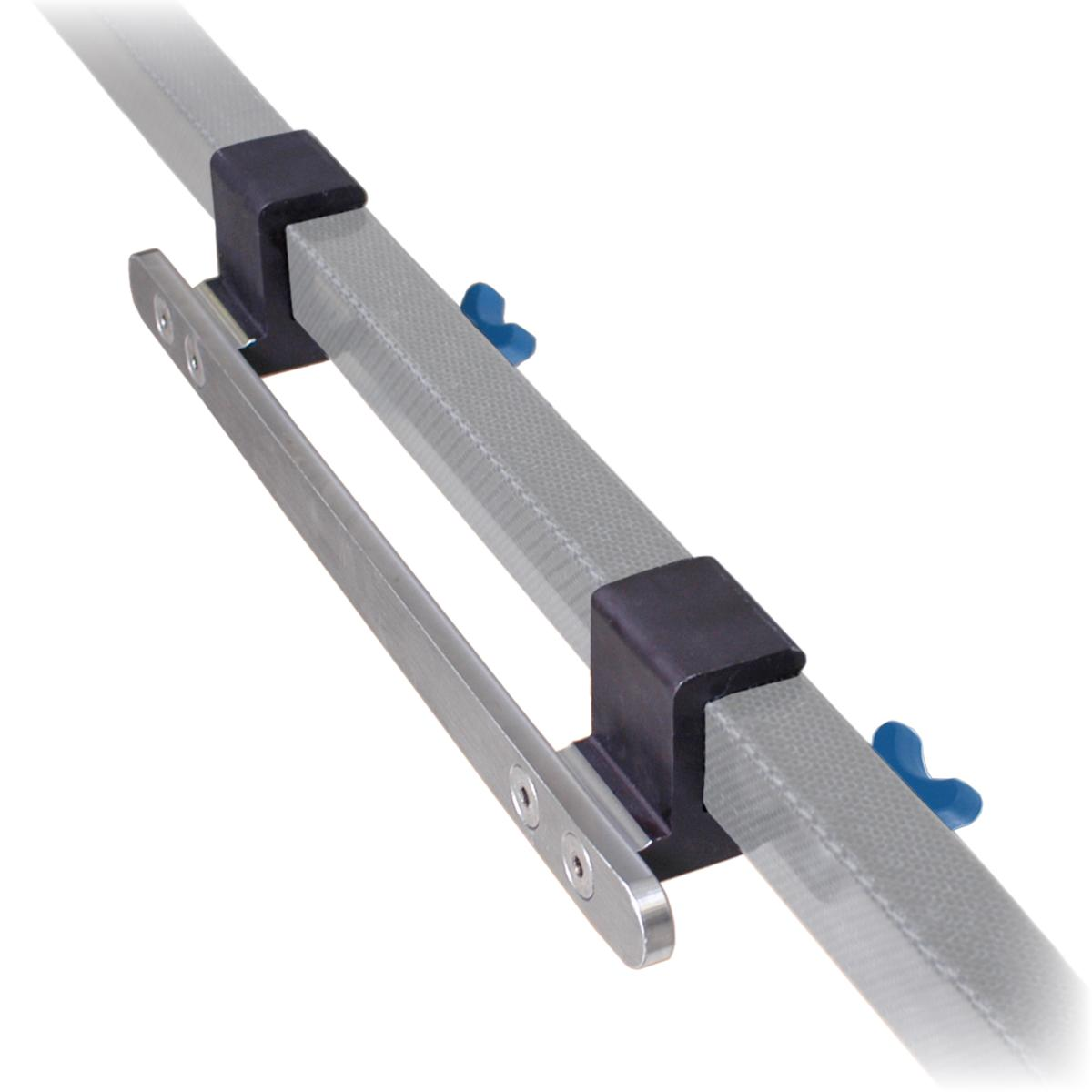 Flex Frame Long Accessory Rail diagonal view