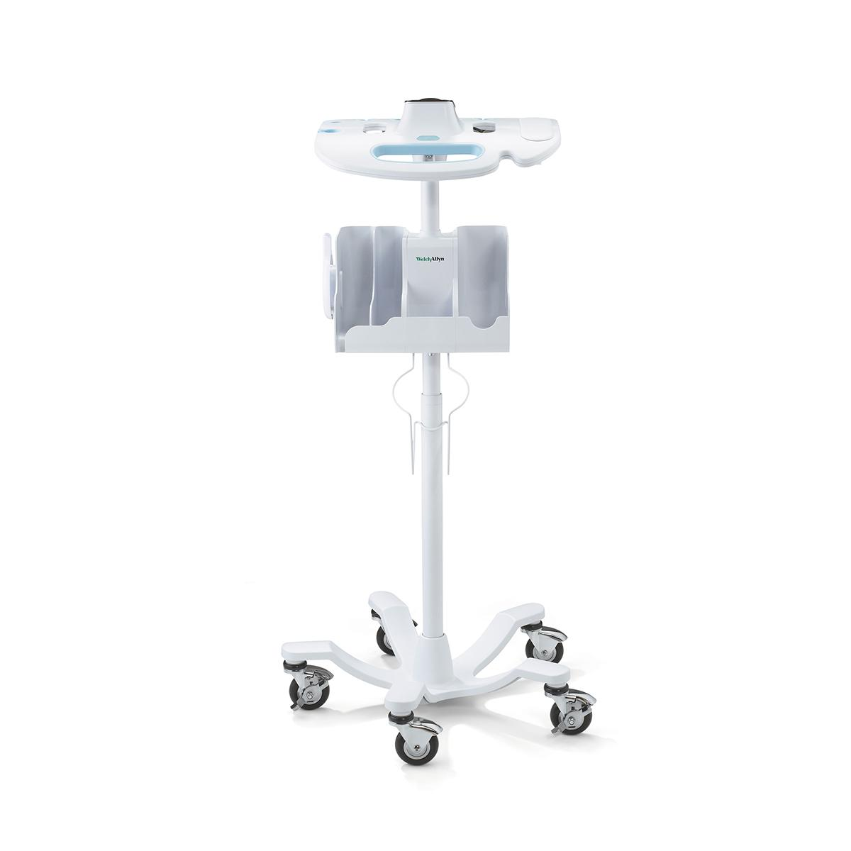 Mobile stand for Connex Vital Signs Monitor, front view