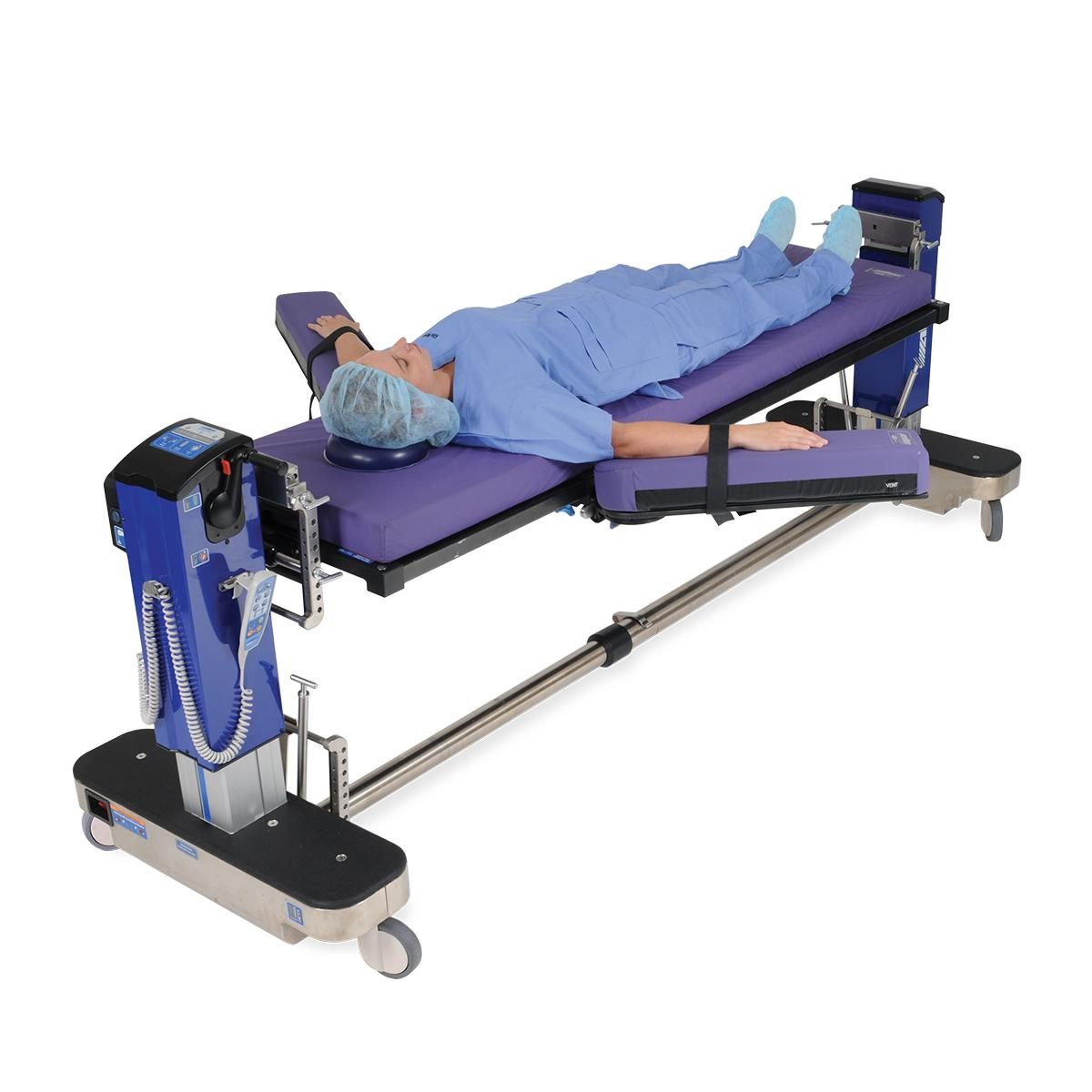 Allen Advance Table diagonal view with patient supine, arms extended