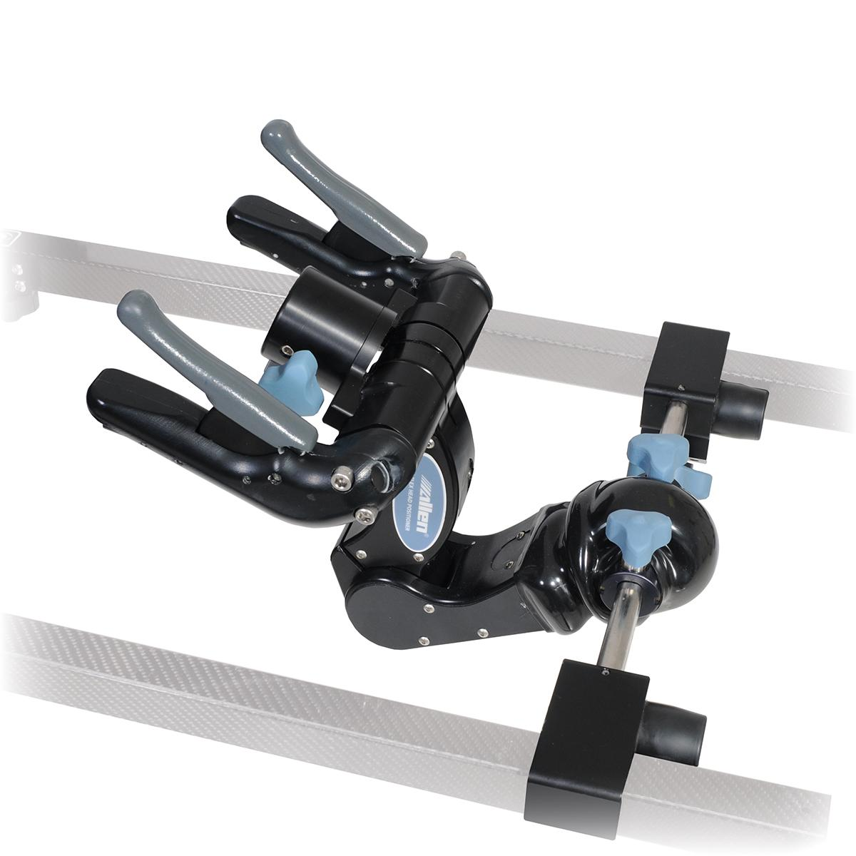 C-Flex Head Positioning System in use with patient prone