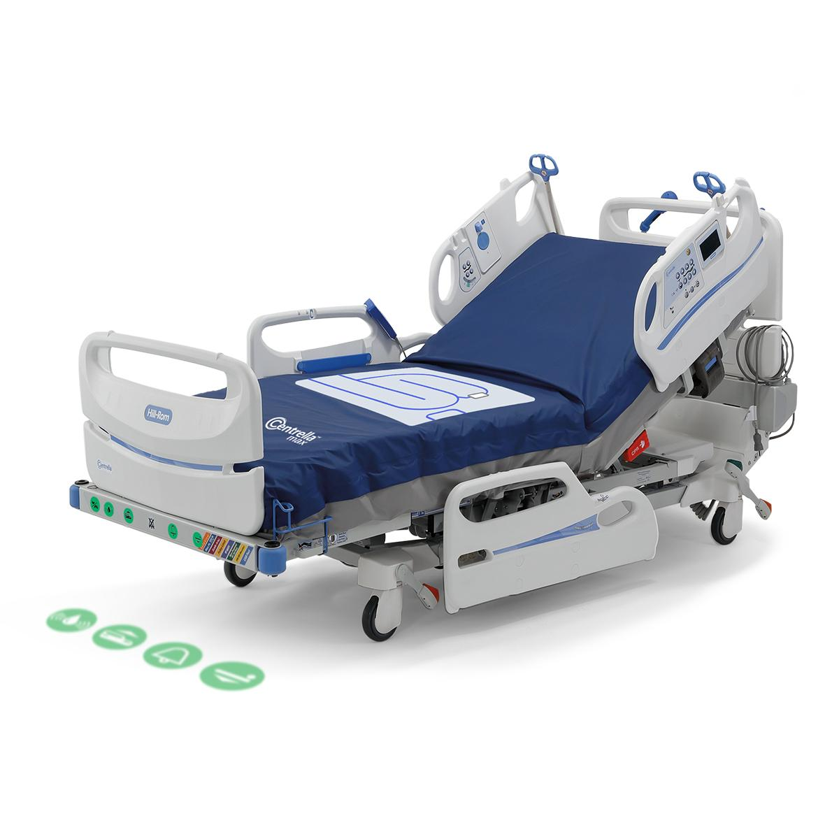 WatchCare Incontinence Management System in use on a Centrella Smart+ Bed