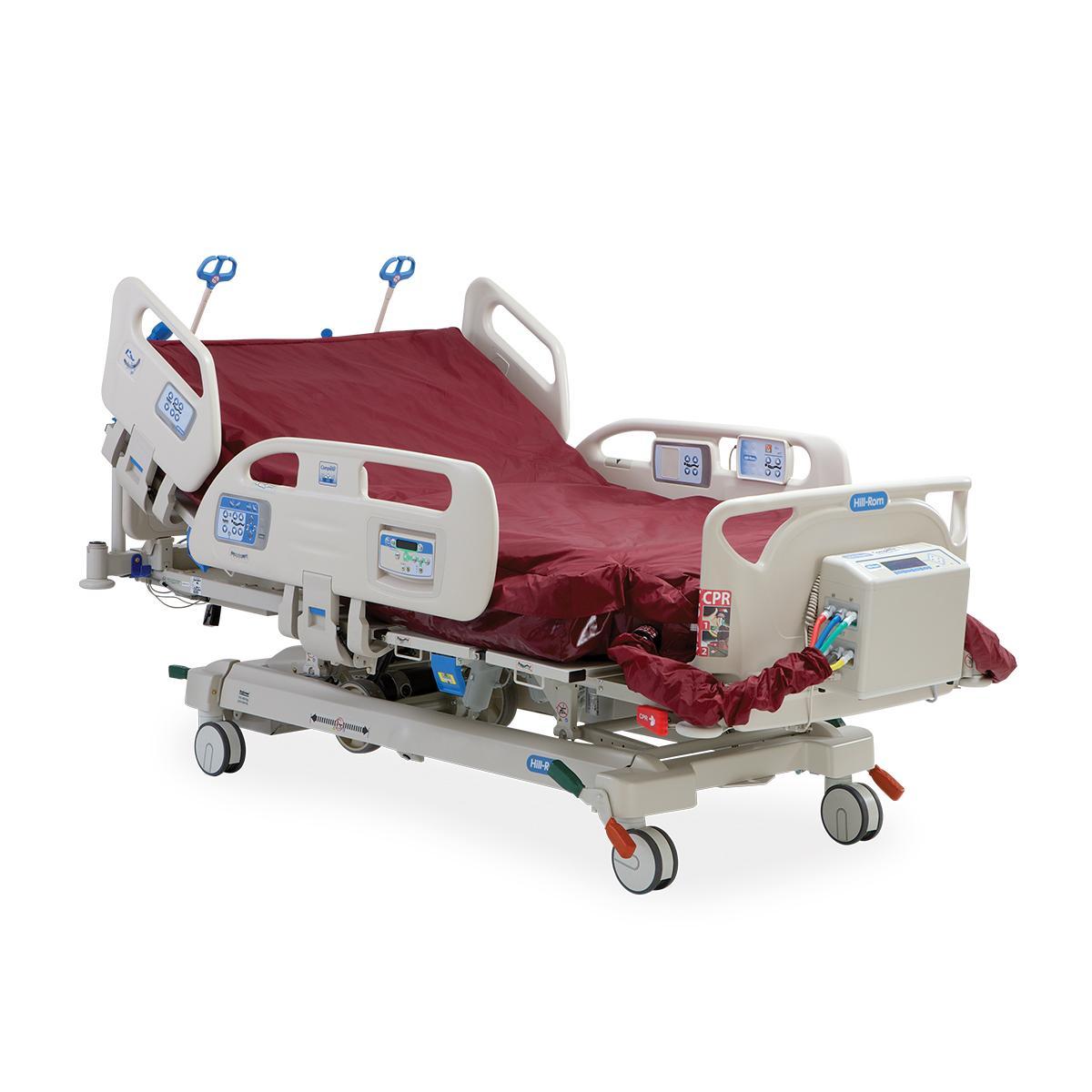 El diseño de la cama bariátrica Compella de Hillrom(TM) ayuda a preservar la dignidad gracias a su diseño, que se asemeja al de una cama de hospital estándar.