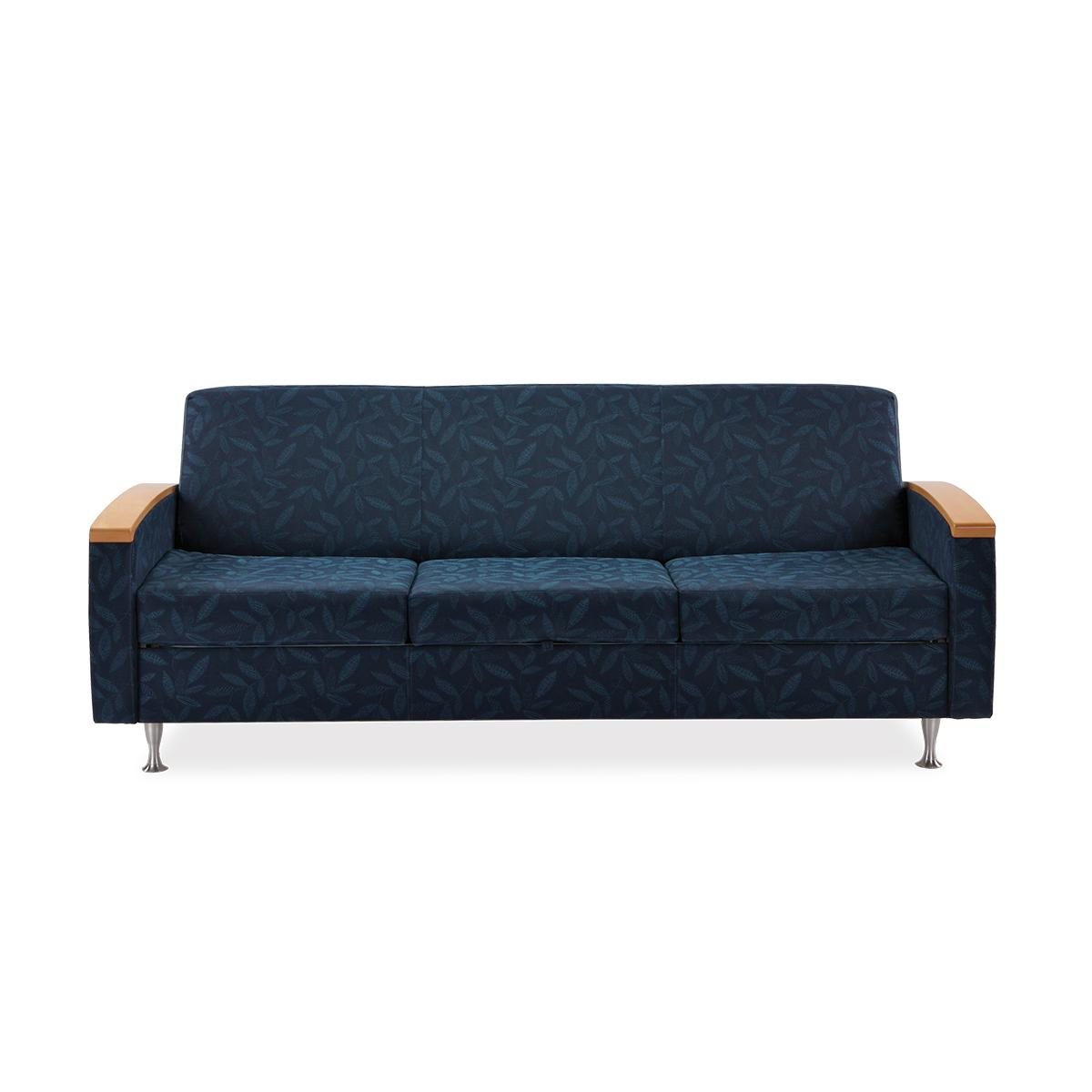 Art of Care Day Bed Sleeper, navy, front facing