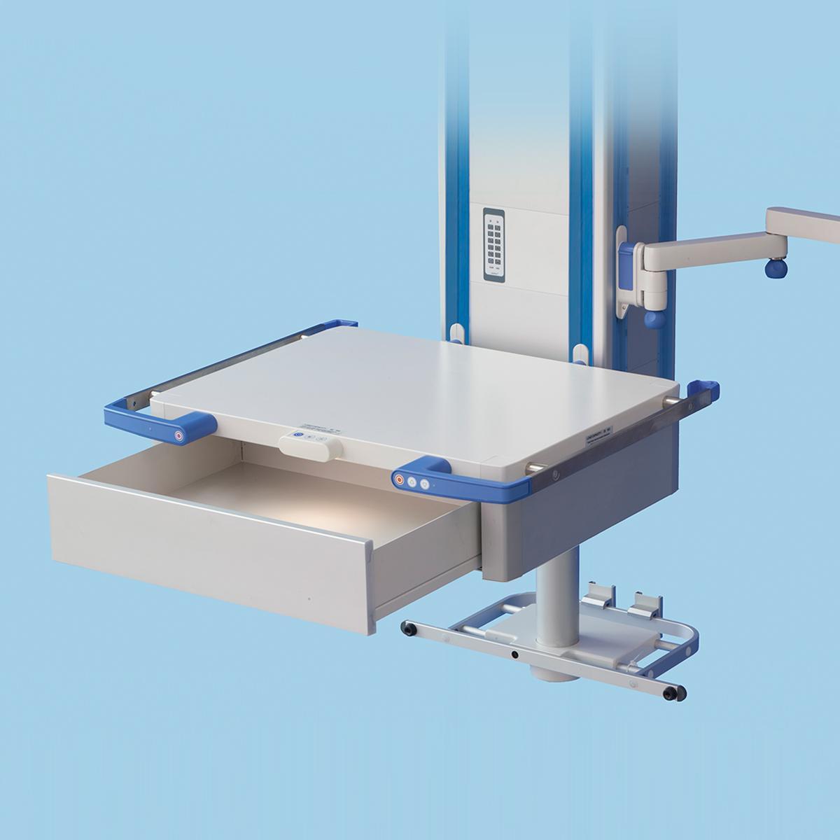 Cajón/estante del brazo FCS