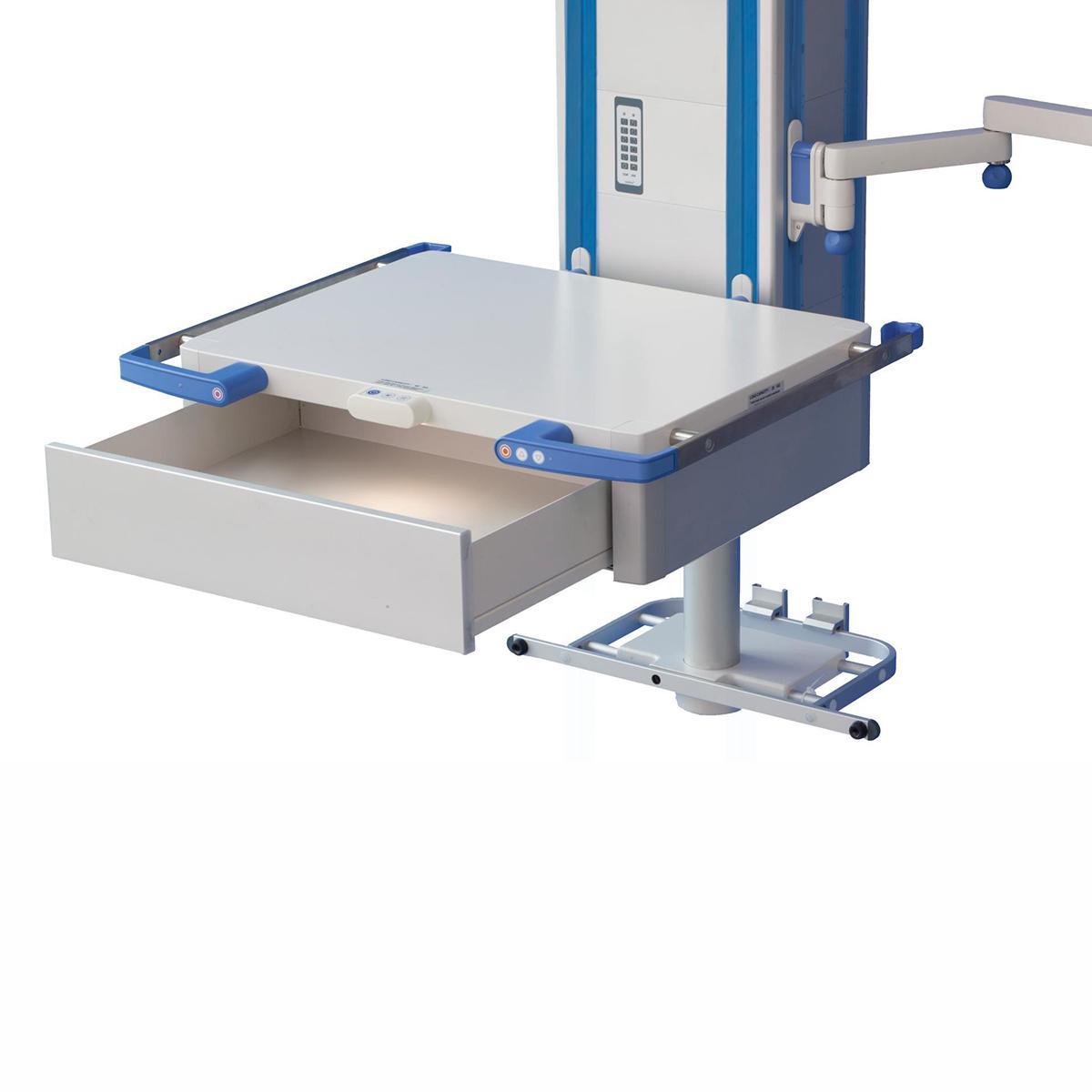 Bras articulé FCS, tiroir/tablette