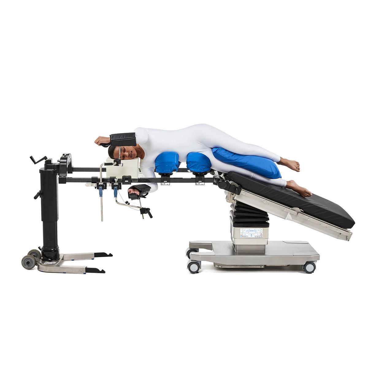 Allen Spine System side view, patient prone