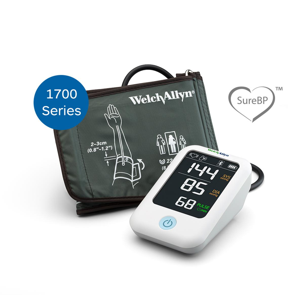Welch Allyn Home Blood Pressure Monitor with cuff, 1700 Series