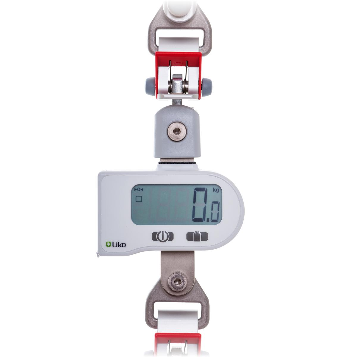 LikoScale reading 0.0 kg, front view