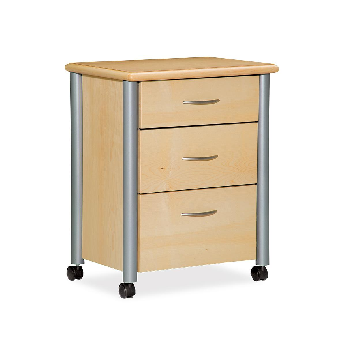 Art of Care Metropolitan and Aero Bedside Cabinets, metro cabinet, 3/4 view
