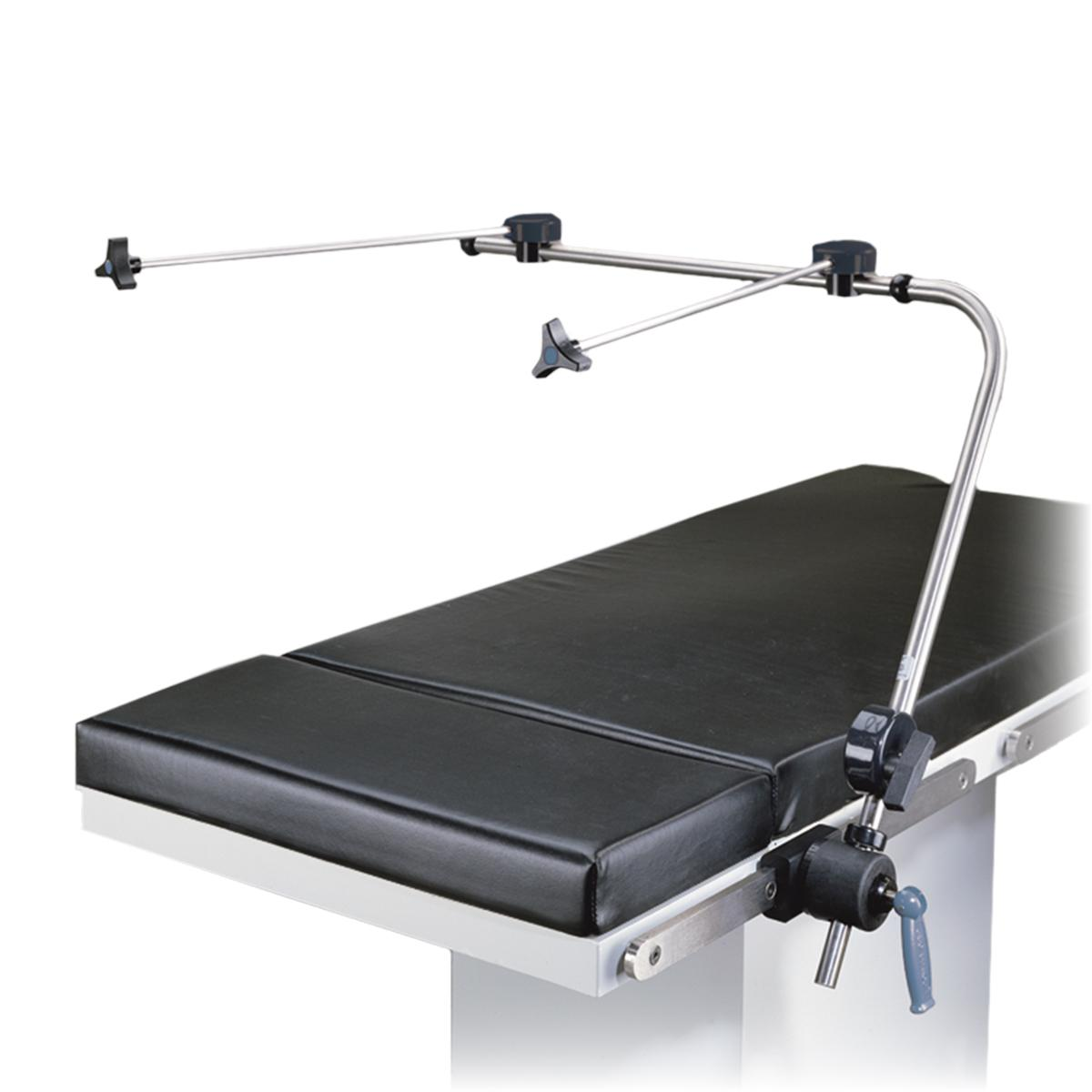 Anesthesia Screen - With Wings diagonal view on OR table