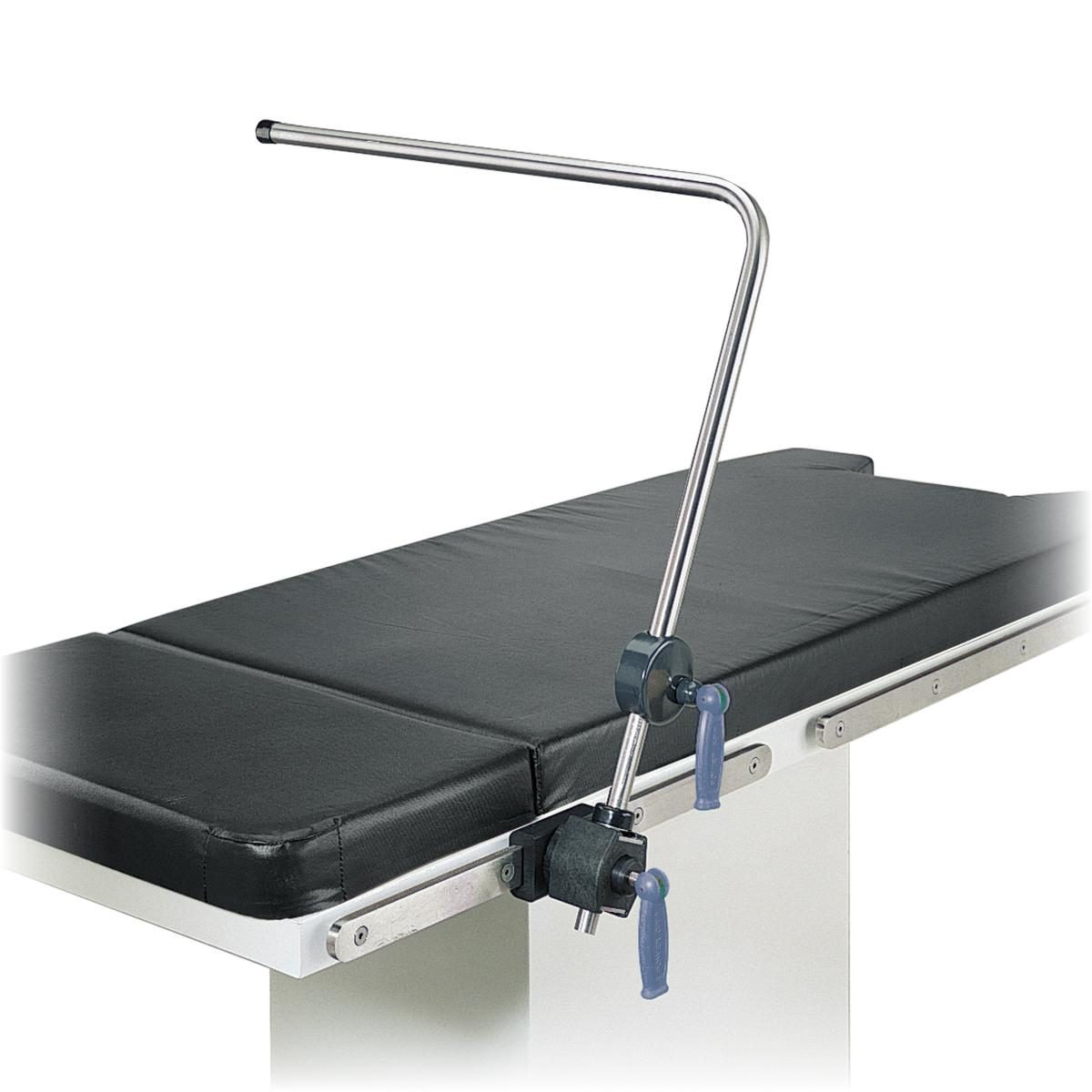 Anesthesia Screen - Without Wings diagonal view on OR table