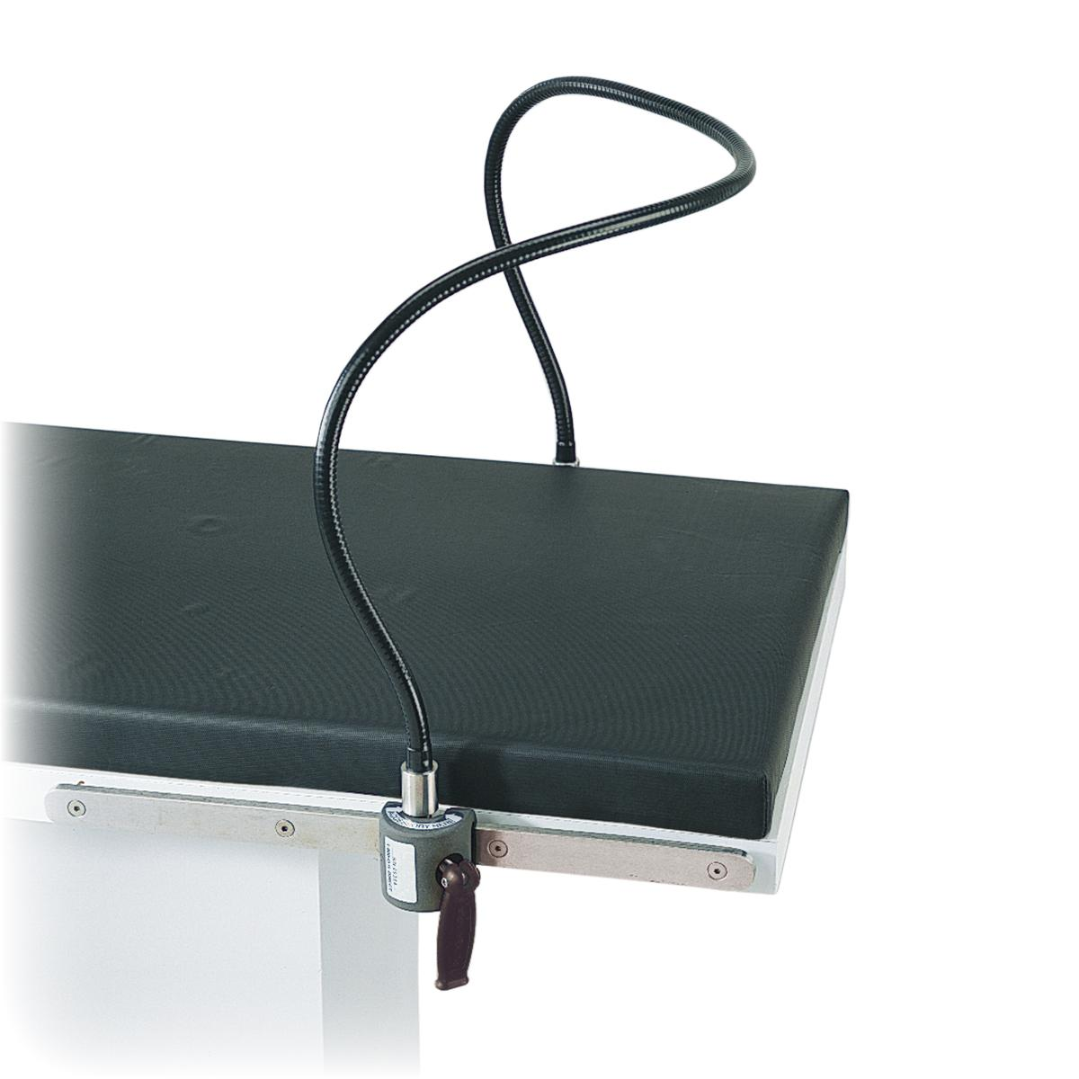 Flexible Anesthesia Screen side view on OR table