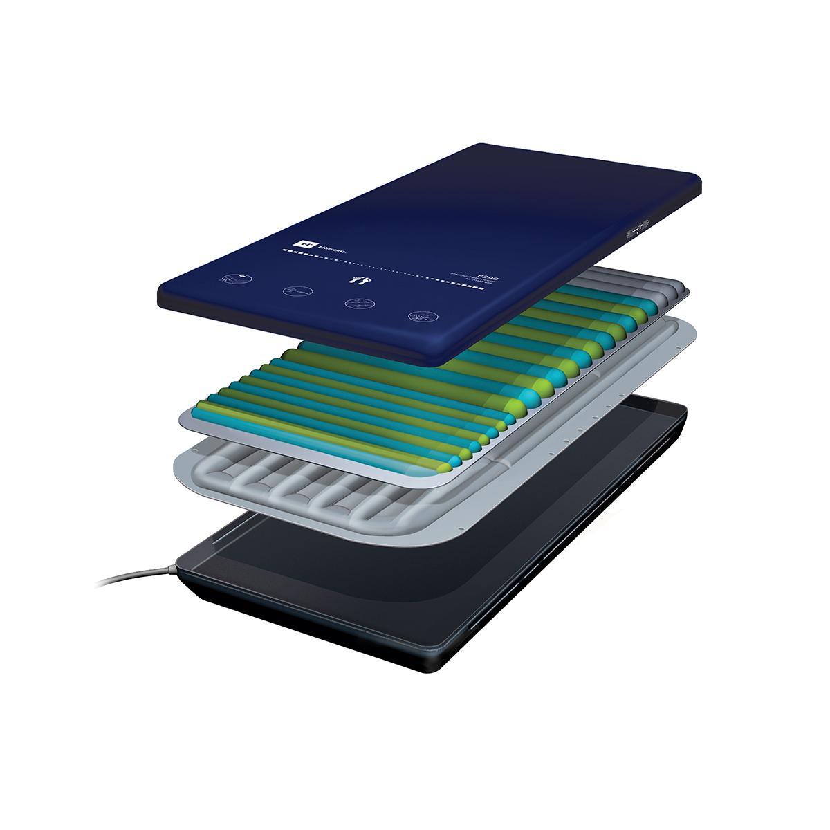 SuperficieP290, opción de aire, vista ampliada ¾ que muestra las capas exteriores e interiores