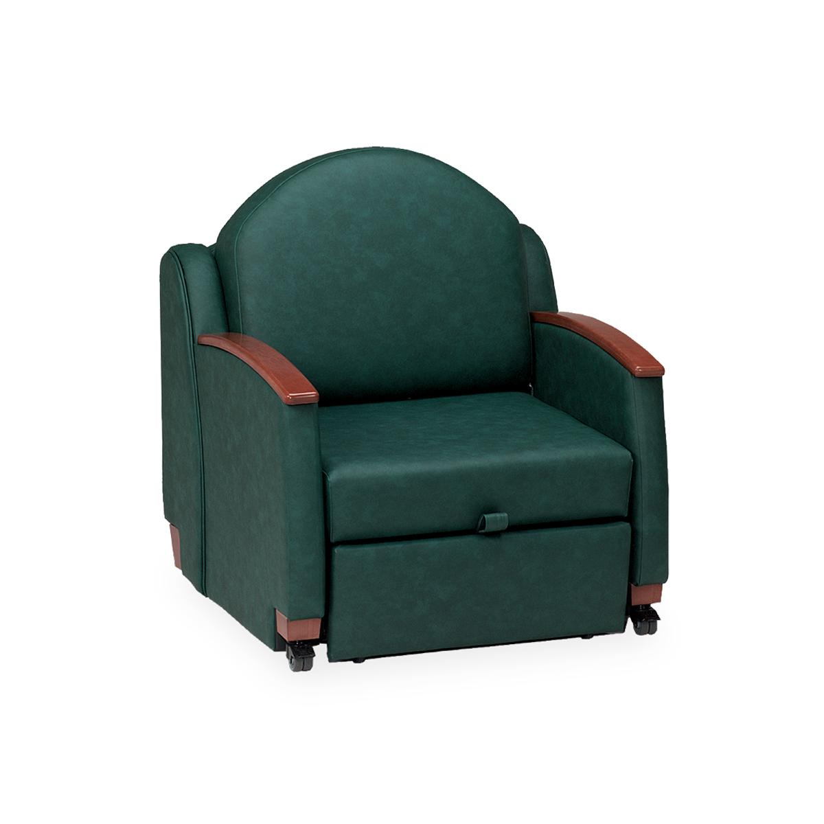 Hillrom Classic Sleeper Chair in dark green