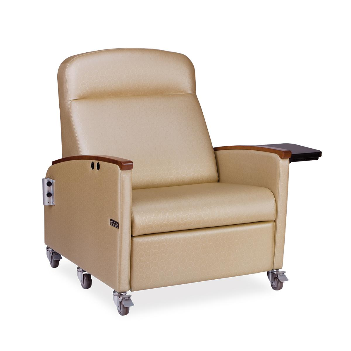 Hillrom Powered Bariatric Recliner, diagonal view