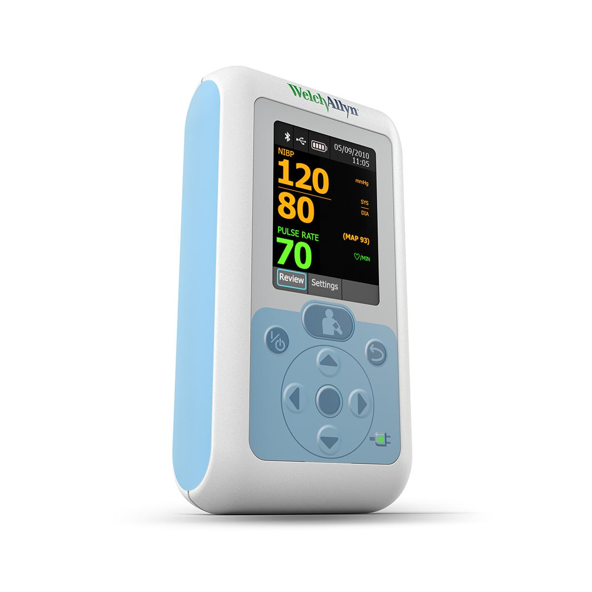 Connex® ProBP™ 3400 Digital Blood Pressure Device, 3/4 view from table top, left side of product