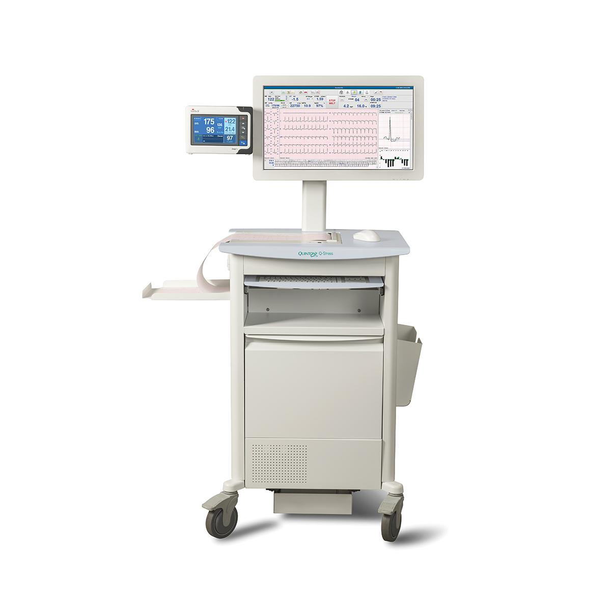 Q-Stress Cardiac Stress Testing System cart front view