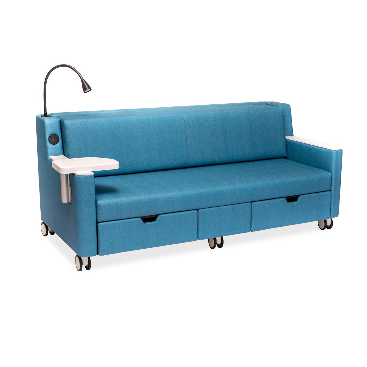 Sofá cama Sleeper: mesa giratoria