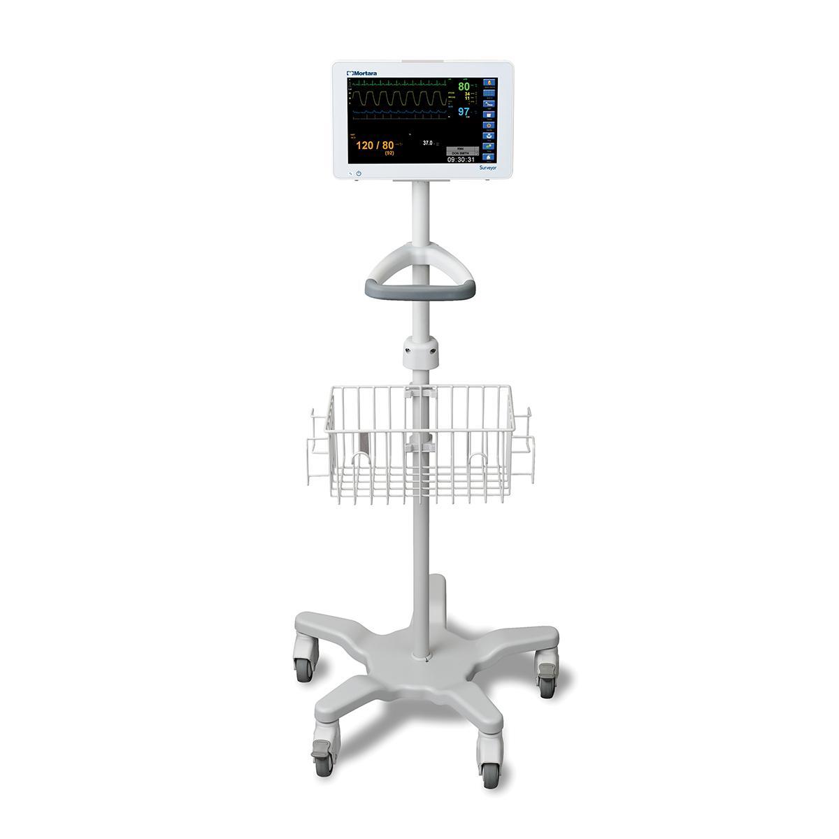 Wall-mounted Surveyor S12 monitor