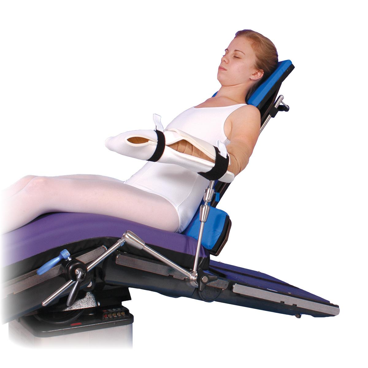 Allen® Arm Positioner, patient in seated position