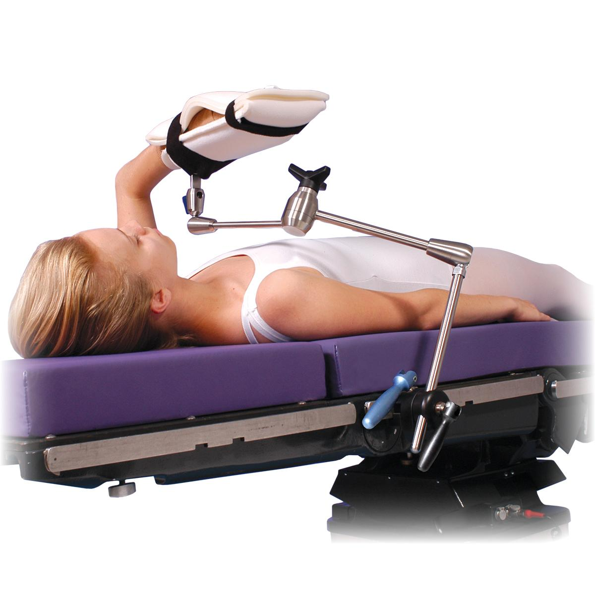 Allen® Arm Positioner, patient in supine position (back)