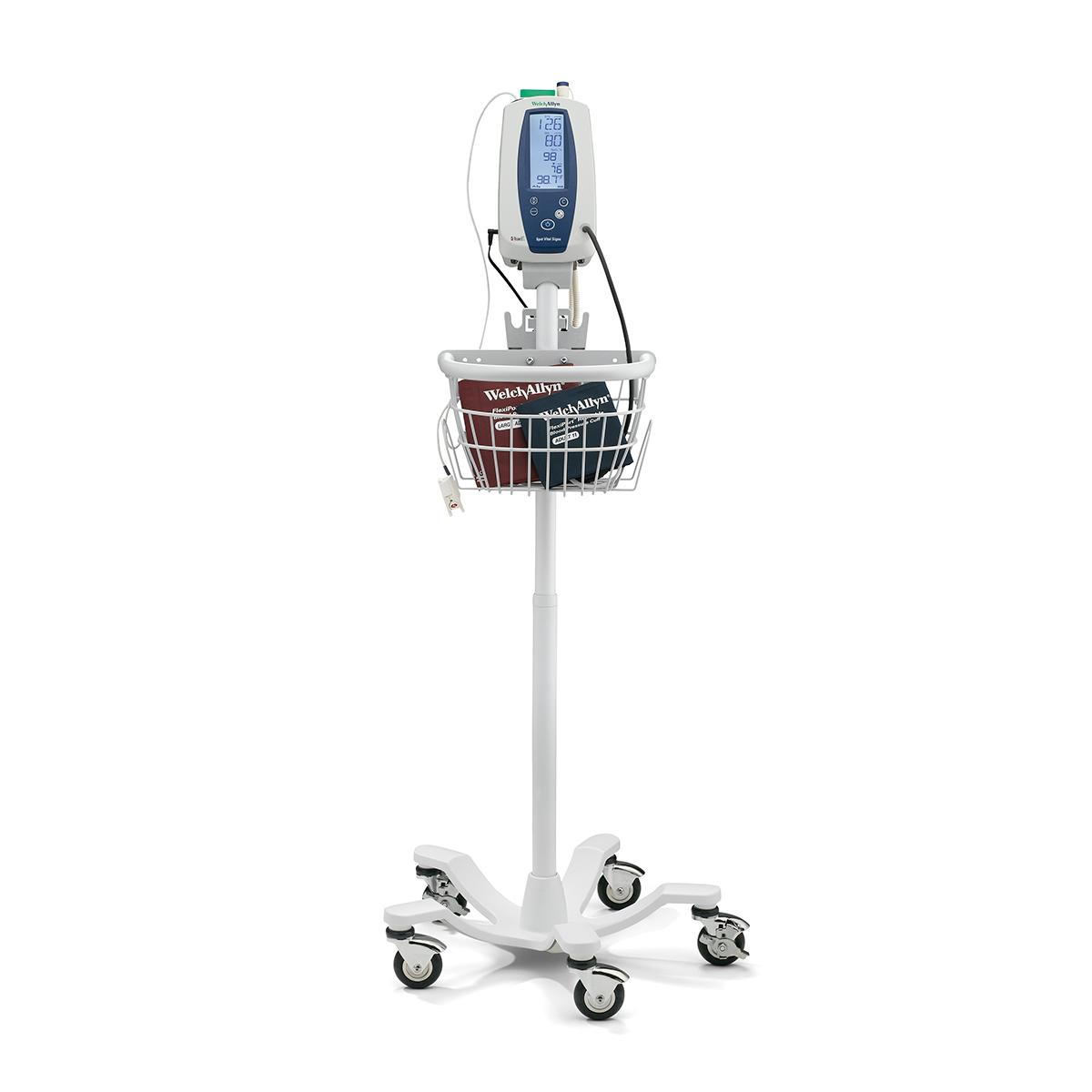 Spot Vital Signs Device on rolling stand
