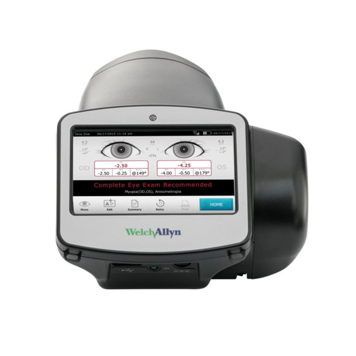 Spot Vision Screener, straight on view with screen visible