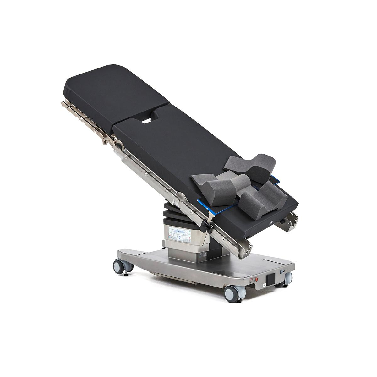 Surgical Table equipped with Hillrom Steep Trend Accessories.