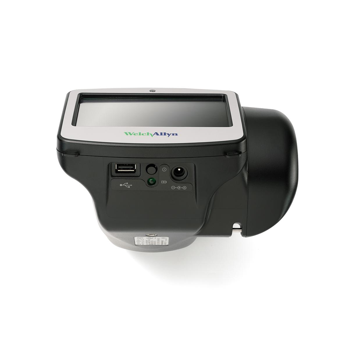 Spot® Vision Screener, bottom view, displaying ports