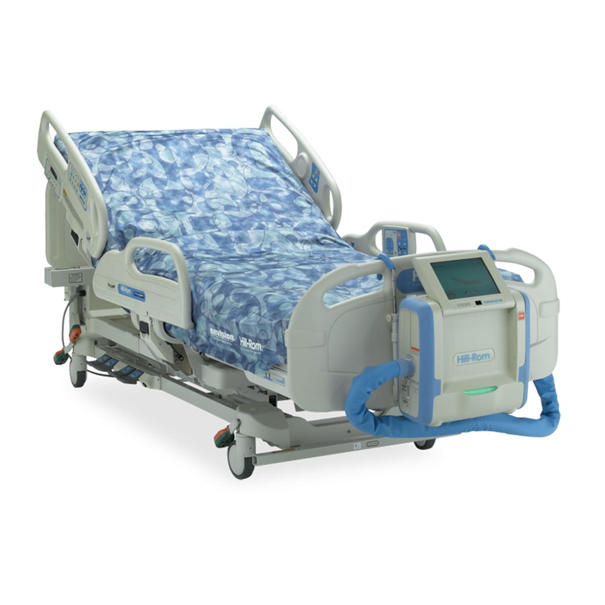 Envision® E700 Therapy Surface diagonal view in bed configuration