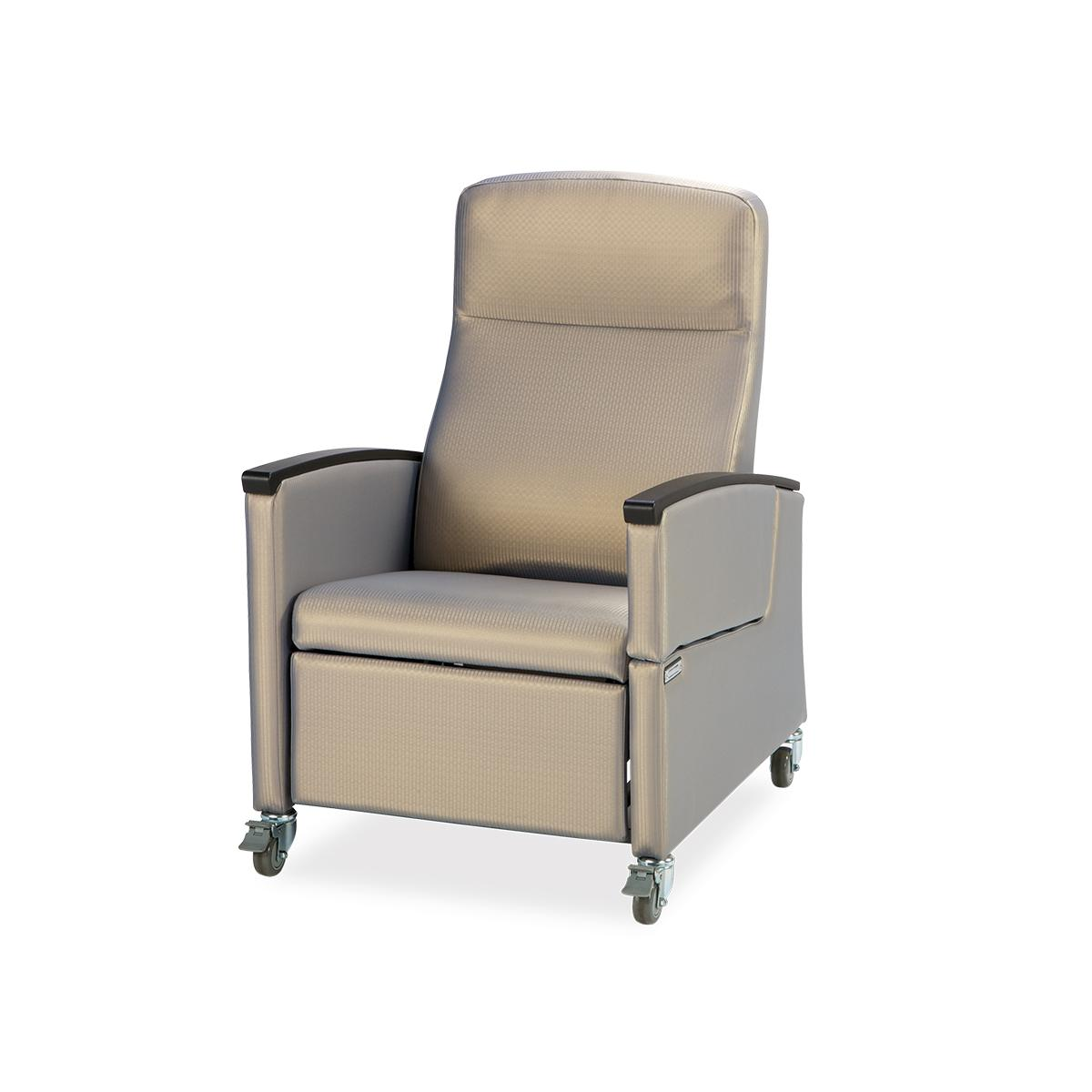 Art of Care Wall Saver Recliner, tan, 3/4 view