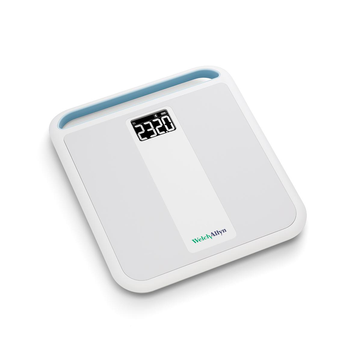 Welch Allyn Home Scale overhead diagonal view