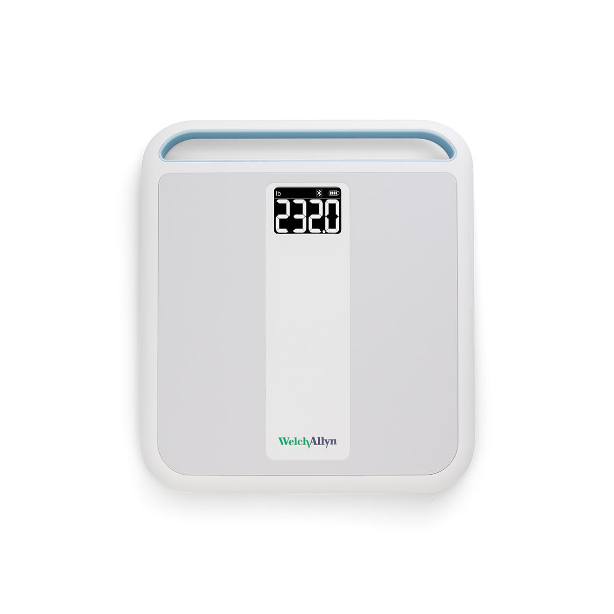 Welch Allyn Home Scale overhead view