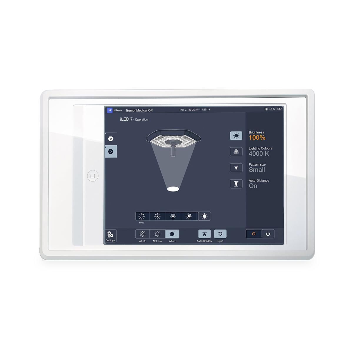 iLED 7, SmartControl iPAD