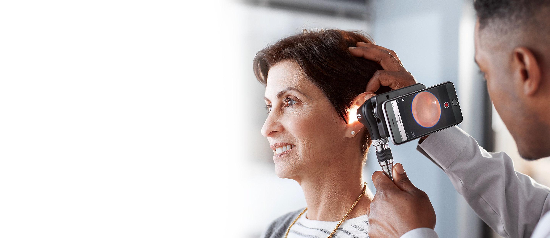 MacroView Plus Otoscope, iExaminer SmartBracket primary care