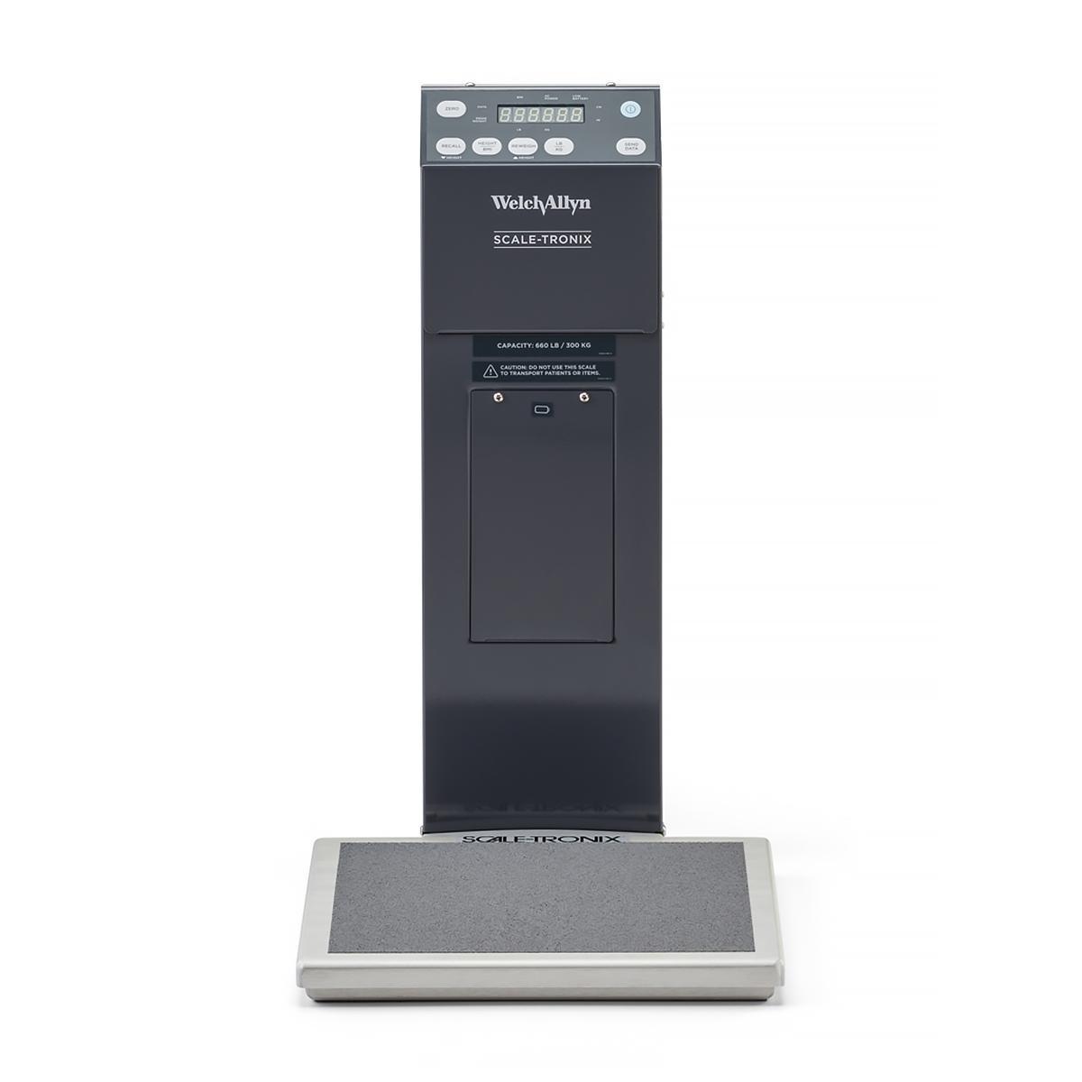 Vue avant de la balance portative Scale-Tronix