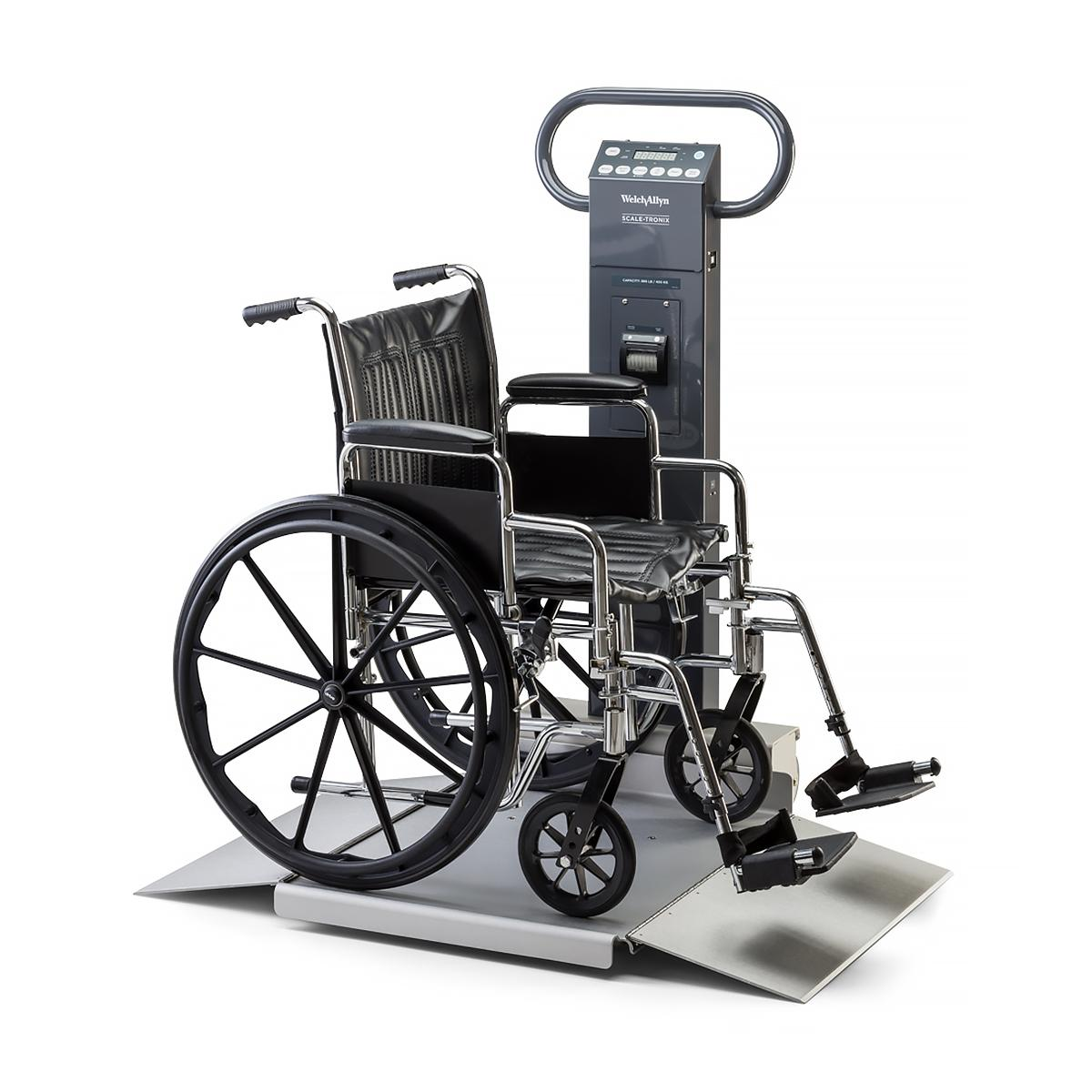 Scale-Tronix Portable Scale with wheelchair